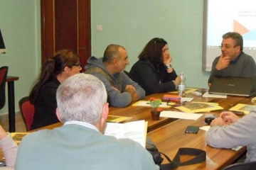 presso la Fondazione MAC insieme di Salerno - il corso di formazione per educatori dell'Istituto Colosimo di Napoli